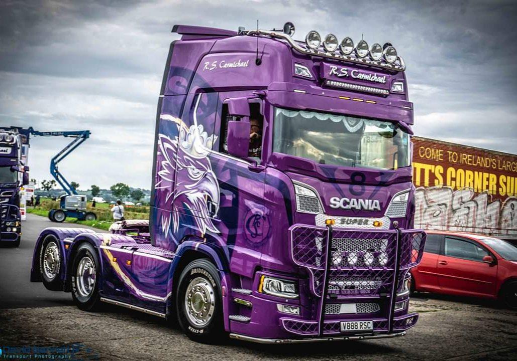 R S Carmichael Haulage lorry